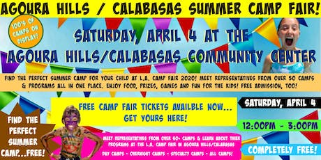 Agoura Hills/Calabasas Summer Camp Fair tickets