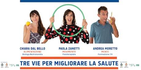 """""""RICOMINCIA DA TRE!"""" Incontro GRATUITO a Castelfranco Veneto 14 ott 20:30 biglietti"""