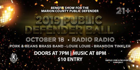 MARION COUNTY PUBLIC DEFENDER BALL 2019 tickets
