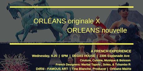 """Orléans X Orleans ~""""Villes jumelles autour de la mode"""" tickets"""
