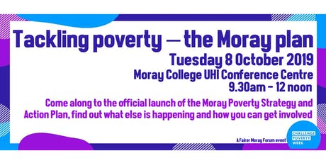 Tackling poverty –  the Moray plan tickets