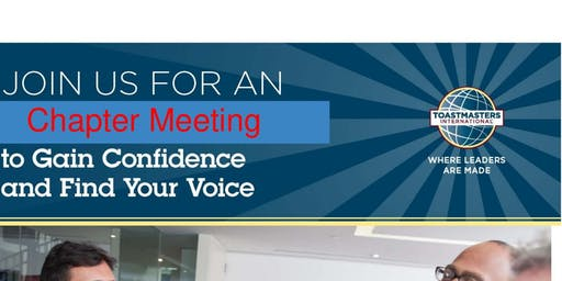 Public Speaking Event : Bring on the New Year