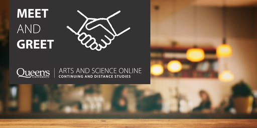 Arts and Science Online Meet and Greet