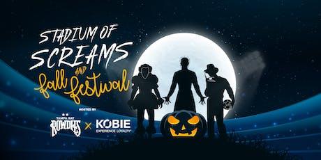 Stadium of Screams Haunted House & Fall Festival tickets