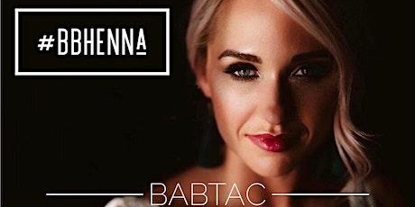 Beauty Training - Henna Brow Training (BABTAC Accredited) tickets
