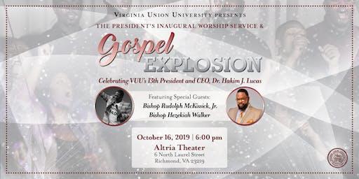 VUU Presents:  The President's Inaugural Worship Service & Gospel Explosion