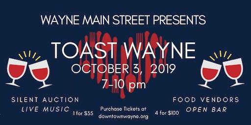 Volunteer For Toast Wayne