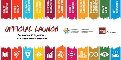 Official Launch: Expanding our home as centre for SDGs in Canada's Capital tickets
