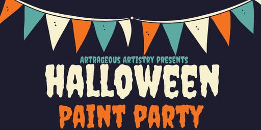 HALLOWEEN PAINT PARTY