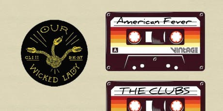 Rooftop show! The Clubs, American Fever, Flangr tickets