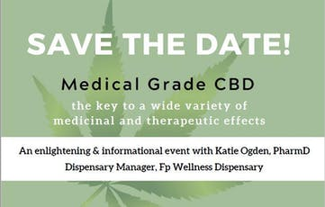 Role of Medical Grade CBD in Wellness Programs tickets