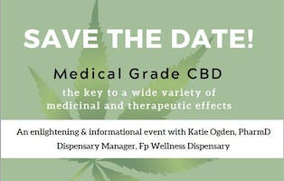 Role of Medical Grade CBD in Wellness Programs