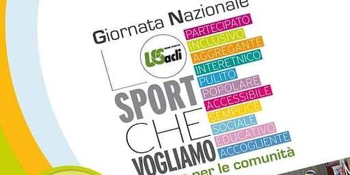 """2^ Giornata Nazionale """"Lo Sport che vogliamo"""""""