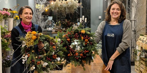 Luxury Christmas Wreath workshop