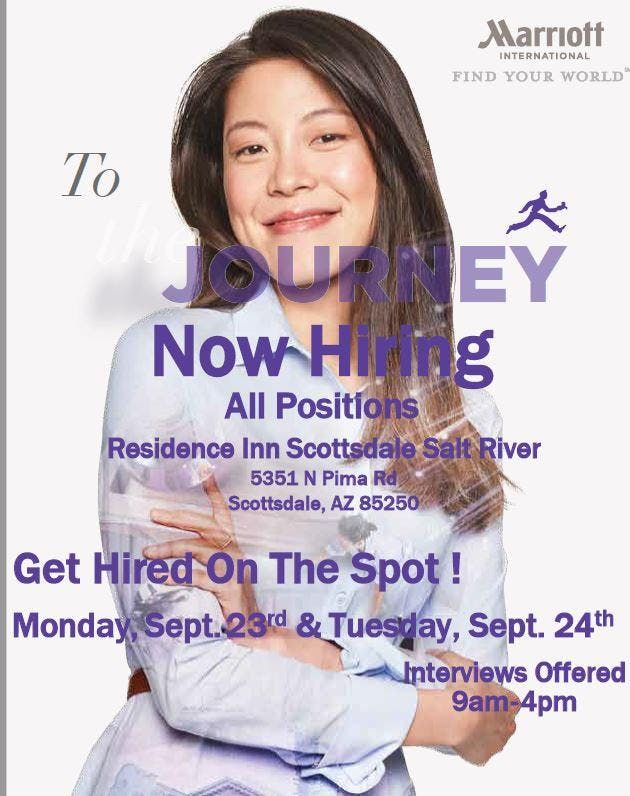 New Hotel Opening- Hiring Event