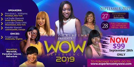WOW Experience 2019 tickets