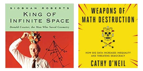 MathEd Forum: King of Infinite Space and Weapons of Math Destruction tickets