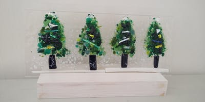 Christmas Glass Fusing Workshop with Cass Peters