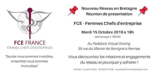 FCE Femmes Chefs d'Entreprise - Réunion de présentation