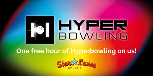 One Free Hour of HyperBowling - SATURDAY, Sept. 28