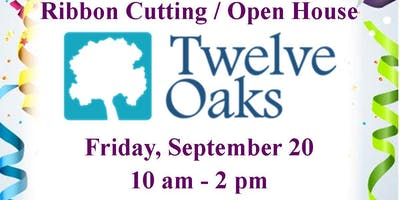 Ribbon Cutting & Open House for Twelve Oaks Recovery