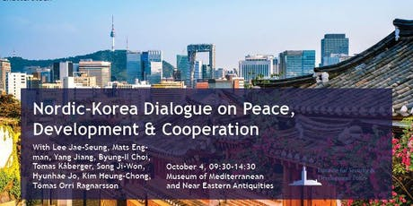 Nordic-Korea Dialogue on Peace, Development & Cooperation tickets