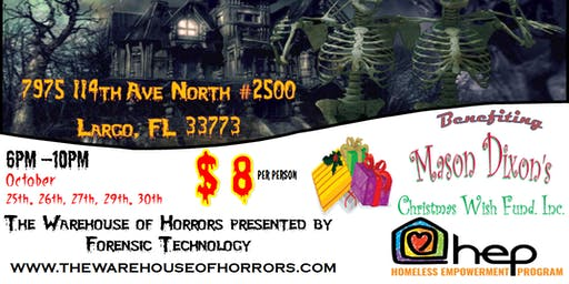 The Warehouse of Horrors - Largo Haunted House