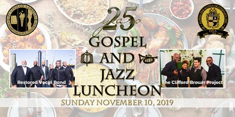 PULCF 25th Anniversary Gospel and Jazz Scholarship Luncheon tickets