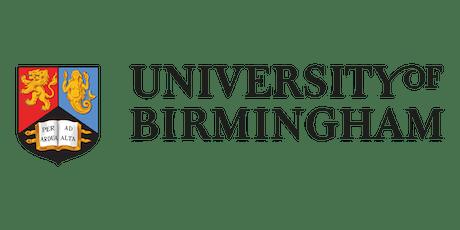 "University of Birmingham Workshop on ""Industry 4.0: disrupting regions"" tickets"