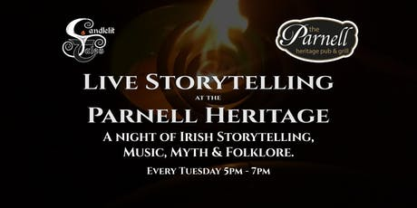 A night of Irish Storytelling, Music, Myth & Folklore tickets