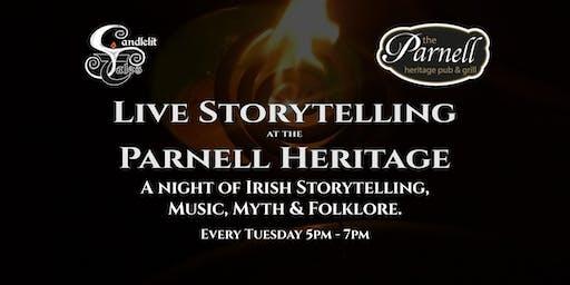 A night of Irish Storytelling, Music, Myth & Folklore