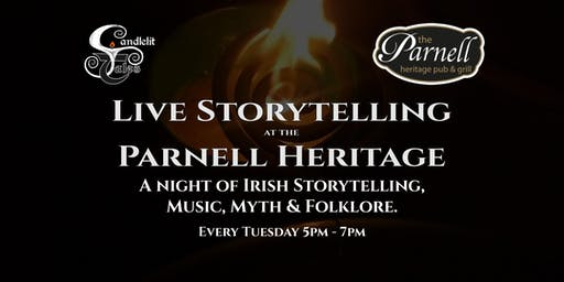 A night of Irish Storytelling, Music, Myth & Folklore