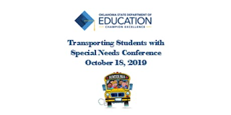 Transporting Students with Special Needs Conference tickets
