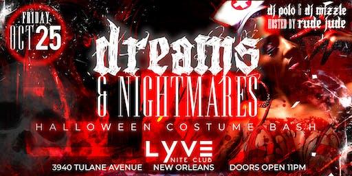Dreams & Nightmares Halloween Costume Bash @ Lyve