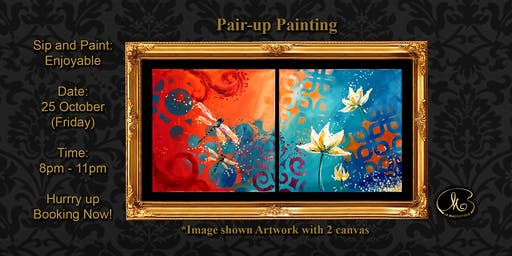 Sip and Paint: Enjoyable