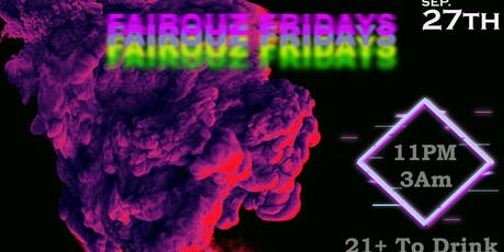 Fairouz Friday's The College Experience tickets