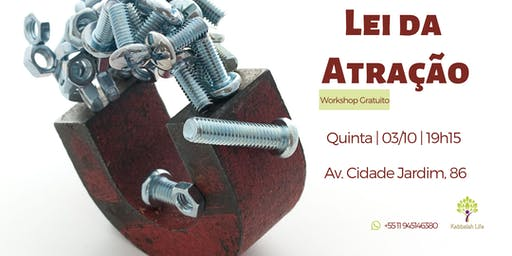 Lei da atração | Workshop gratuito