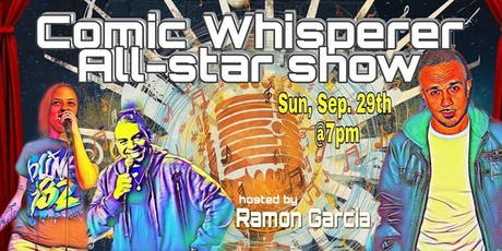 Comic Whisperer All-Star Show tickets