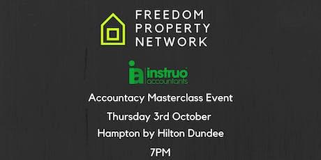 Freedom Property Network - Accountancy Masterclass tickets