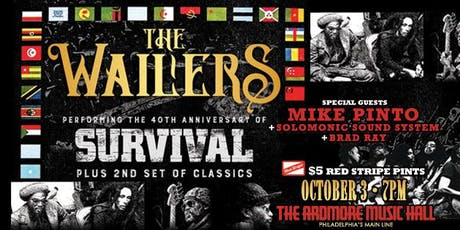 The Wailers w/ Mike Pinto tickets