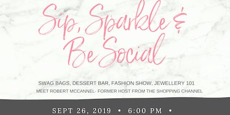 Sip, Sparkle & Be Social Event tickets