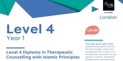 Level 4 Diploma in Therapeutic Counselling (CPCAB) with Islamic Principles -London