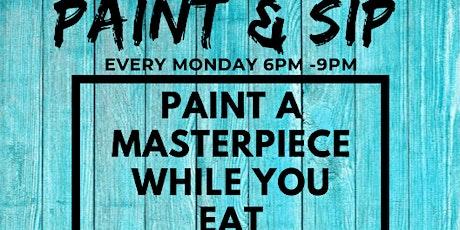 Paint & Sip at Porkchop Hyde Park tickets
