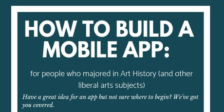 Create a Mobile App: A crash course for liberal arts majors tickets