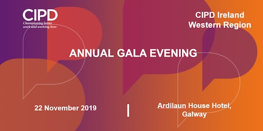 Annual Gala Evening - CIPD Ireland Western Region
