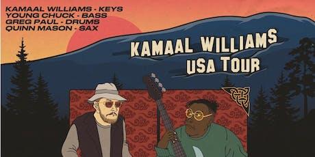 KAMAAL WILLIAMS  at 1015 FOLSOM tickets