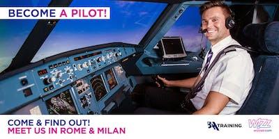 Wizz Air Cadet Program Career Day in Rome