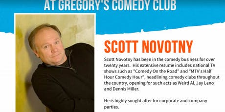 Gregory's Cocoa Beach Comedy Club November 21 - 23 ! tickets