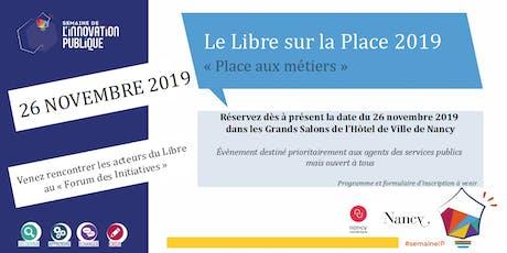 Le Libre sur la Place 2019 billets