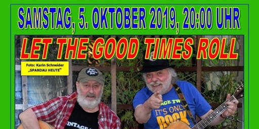 """LET THE GOOD TIMES ROLL MIT """"VINTAGE TWO - ALL-TIME HITS OF THE 60's & 70's"""